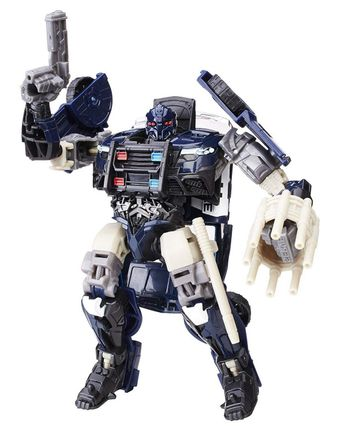 Transformers The Last Knight: Premier Edition - Barricade Action Figure, 15cm