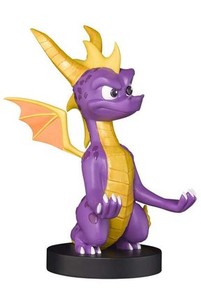 Cable Guys XL: Spyro The Dragon - Spyro, Device Holder incl. Type-C USB Cable