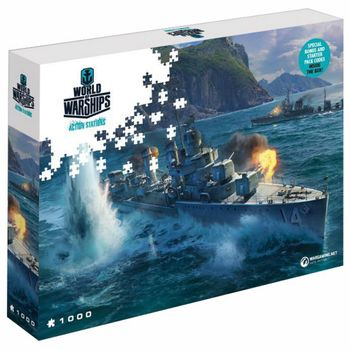 World of Warships - Pan-Asian Destroyers Puzzle, 1000 Pieces (68x48cm)