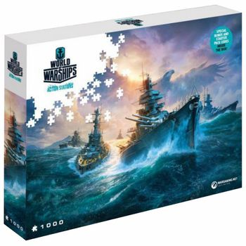 World of Warships - German Battleships Puzzle, 1000 Pieces (68x48cm)