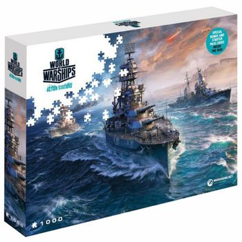 World of Warships - Ready to Fight Puzzle, 1000 Pieces (68x48cm)