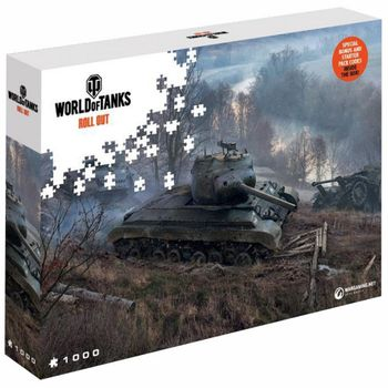World of Tanks - On the Prowl Puzzle, 1000 Pieces (68x48cm)