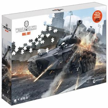 World of Tanks - Watch Your Back Puzzle, 1000 Pieces (68x48cm)