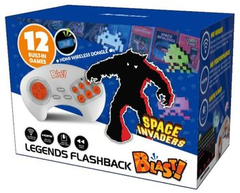 Legends Flashback Blast! - TV Wireless HD Joystick incl. Space Invaders