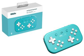 8BitDo Lite Bluetooth Gamepad - Turquoise Edition (Switch, PC)