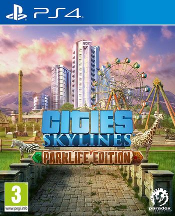 PS4 Cities: Skylines Parklife Edition