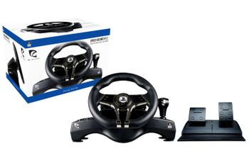 Piranha Speed-Racing Wheel incl. Pedals and Gear Shift (PS4, PS3, PC)
