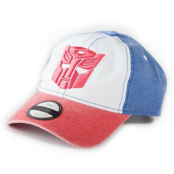 Baseball Cap: Transformers - Autobots, Blue/Red