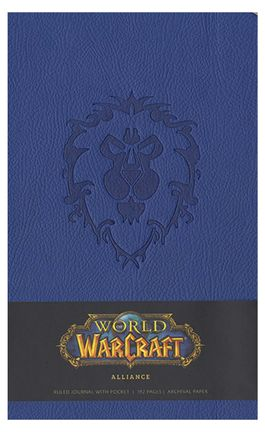 Ruled Journal World of Warcraft - Alliance, Hardcover with Pocket A5