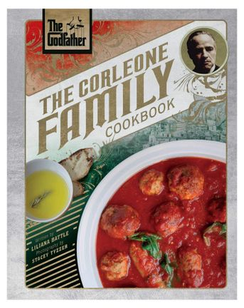 Insight Editions - Godfather: The Corleone Family Cookbook, 208 Pages