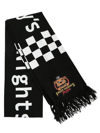 Scarf Five Nights at Freddy's, Black/White