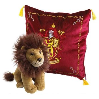 Harry Potter - Gryffindor House Mascot Plush and Cushion