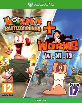 Xbox One Worms: Battlegrounds + Worms: W.M.D. Bundle