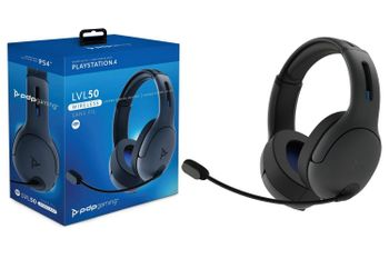 PDP Gaming LVL 50 Stereo Headset Wireless - Grey (PS4)