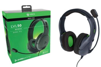 PDP Gaming LVL 50 Stereo Headset Wired - Grey (Xbox One)