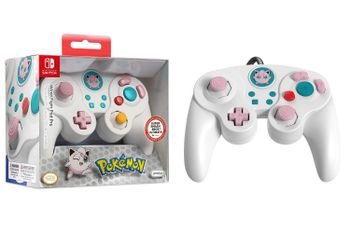 PDP Wired Fight Pad Pro - Pokemon Jigglypuff Edition (Switch)