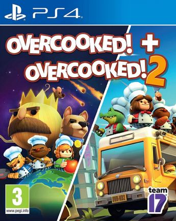 PS4 Overcooked! + Overcooked! 2