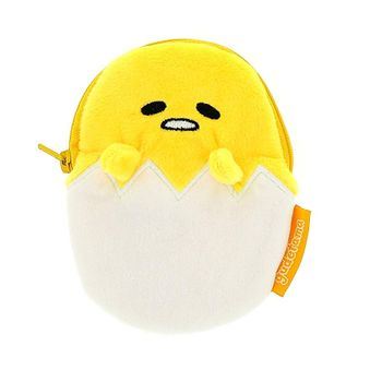 Gudetama - Plush Zip Purse