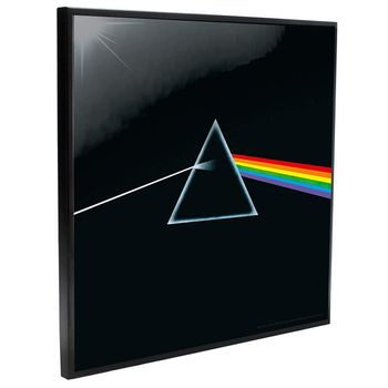 Crystal Clear Picture: Pink Floyd - Dark Side of the Moon, 32x32cm