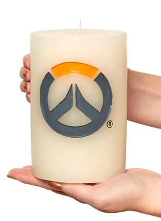 Overwatch - Logo Candle XL, 10x15cm