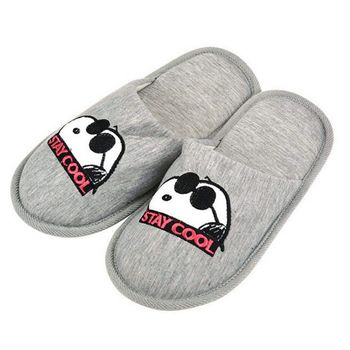 Mule Slippers: Peanuts - Stay Cool, Grey Size 36/37 EU