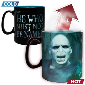 Harry Potter - Voldemort Heat Change Mug (Abysse), 460ml