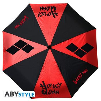 DC Comics - Harley Quinn Umbrella, Auto Open