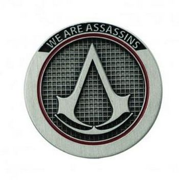 Assassin's Creed - Crest Pin Badge, 3cm