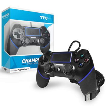 TTX Tech Champion Controller Wired - Black (PS4)
