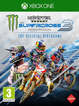 Xbox One Monster Energy Supercross 3 - The Official Videogame