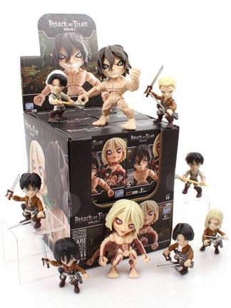 Action Vinyls: Attack on Titan - Mini Figures Blind Box