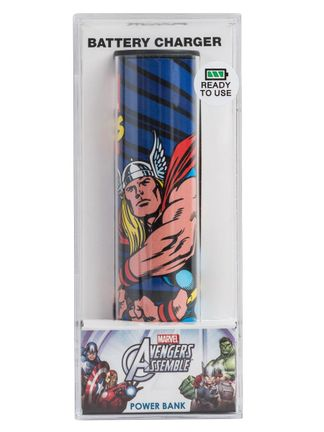 Tribe Power Bank: Marvel Avengers Assemble - Thor, 2600mAh