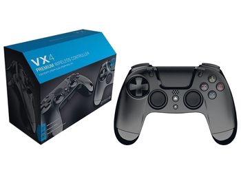 Gioteck VX4 Premium Controller Wireless - Black (PS4, PC)