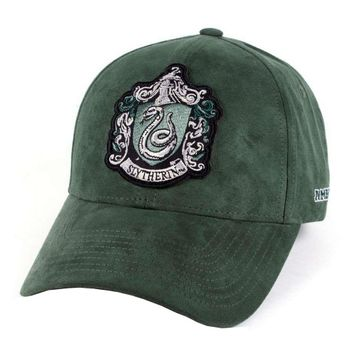 Baseball Cap: Harry Potter - Slytherin, Green