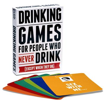 Drinking Games for People Who Never Drink - Card Game, 2+ Players