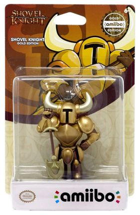 Amiibo Shovel Knight - Shovel Knight Gold Edition