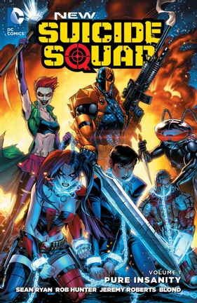 Comics DC: New Suicide Squad Vol 1 - Pure Insanity, Paperback