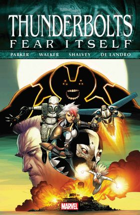 Comics Marvel: Fear Itself - Thunderbolts, Paperback