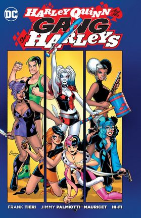Comics DC: Harley Quinn and Her Gang of Harleys, Paperback