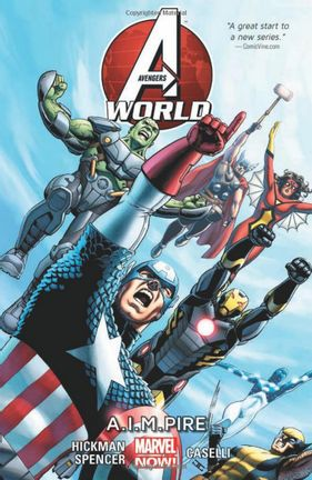 Comics Marvel: Avengers World Vol 1 - A.I.M. Pire, Paperback