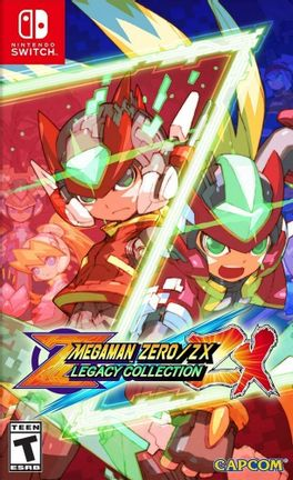 SWITCH Mega Man Zero/ZX Legacy Collection US Version