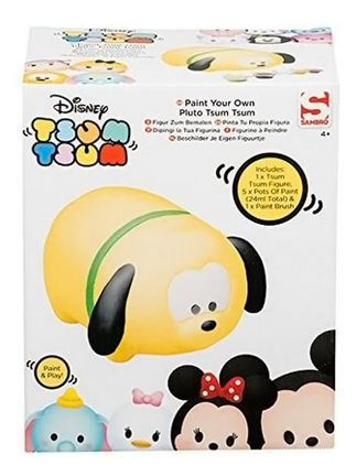 Disney Tsum Tsum - Paint Your Own Pluto Figure