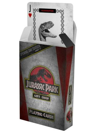 Playing Cards - Jurassic Park