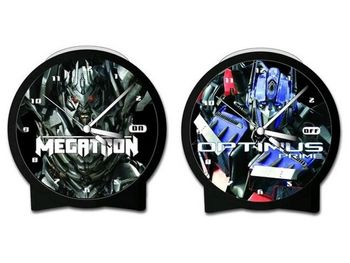 Transformers: Revenge of the Fallen - Optimus Prime/Megatron Lenticular Alarm Clock