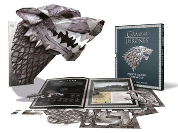 Game of Thrones - House Stark 3D Mask and Wall Mount
