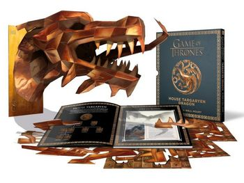 Game of Thrones - House Targaryen Dragon 3D Mask and Wall Mount