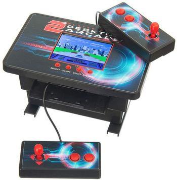 Funtime Gifts - 2 Player Ready Desktop Arcade incl. 200 Games