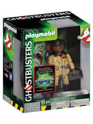 Playmobil: Ghostbusters - W. Zeddemore, 10 Pieces