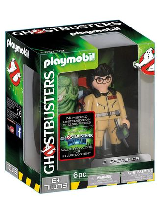 Playmobil: Ghostbusters - E. Spengler, 6 Pieces