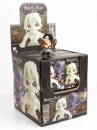 Action Vinyls: Attack on Titan - Angry Mini Figures Blind Box